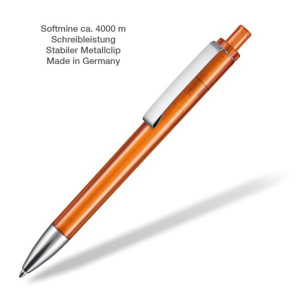 Kugelschreiber Exos transparent orange