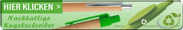 Nachhaltige Kugelschreiber