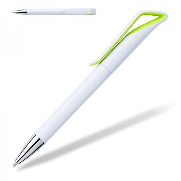 Kugelschreiber Savona white