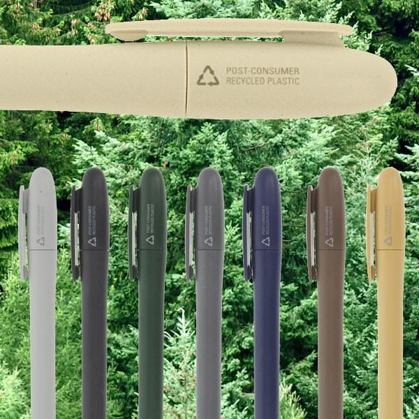 Recycelte-Kugelschreiber-in-Naturfarben