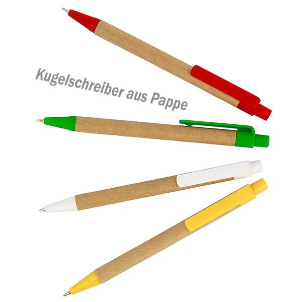 Kugelschreiber-Pappe
