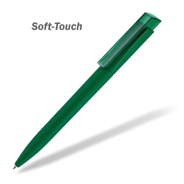 Kugelschreiber Fresh Soft Touch grün