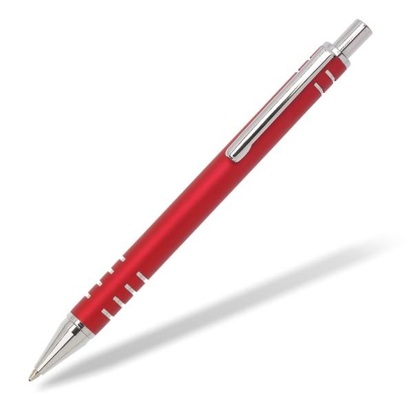 Metallkugelschreiber Roxter rot
