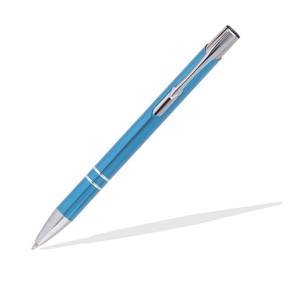 Metallkuglschreiber Terax hellblau