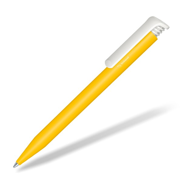 Werbe-Kugelschreiber-Super-Hit-Bio-gelb