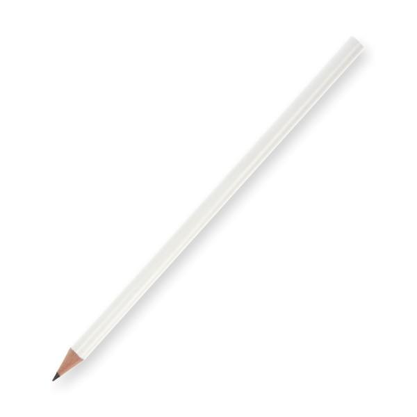 Bleistift Glanzlack weiß