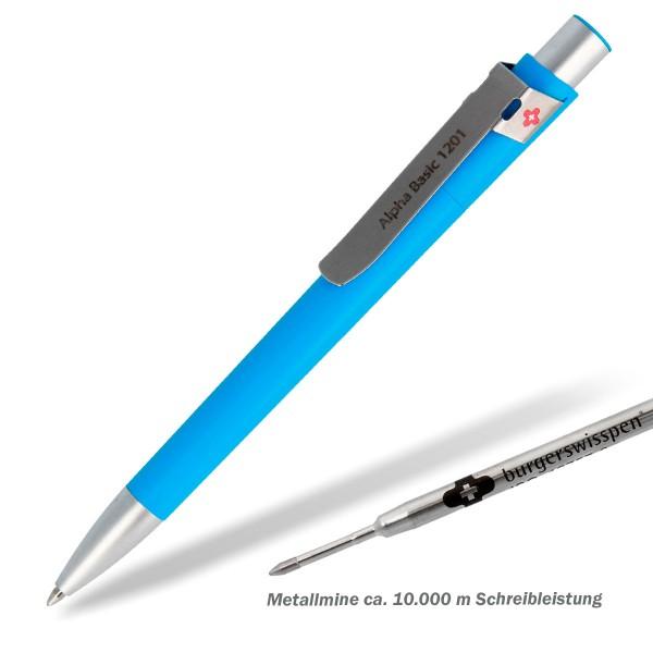 Kugelschreiber-alpha-basic-hellblau