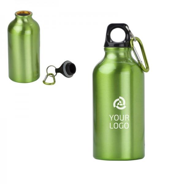 trinkflasche-merino-aus Aluminium-gruen-offen