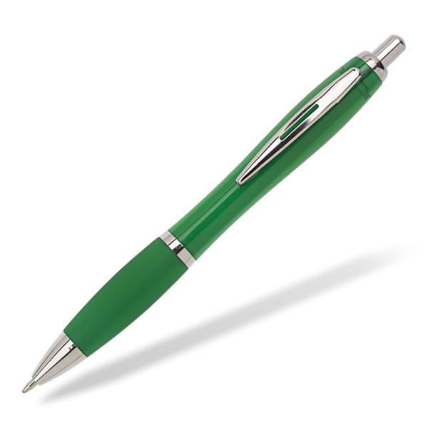 Kugelschreiber Toppy clear grün