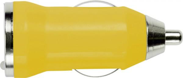 usb-kfz-ladestecker-gelb