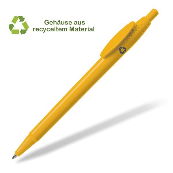 kugelschreiber-recycelt-extra-gelb
