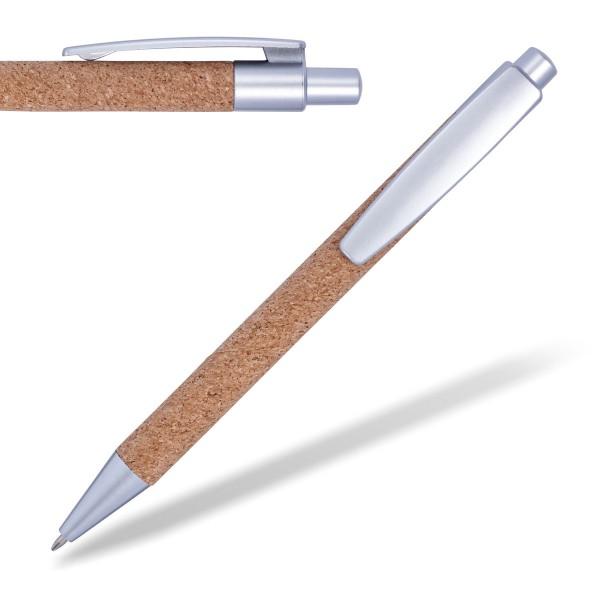 kugelschreiber-aus-kork-silber