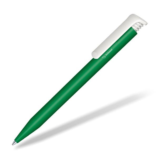 Werbe-Kugelschreiber-Super-Hit-Bio-gruen
