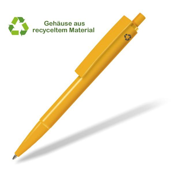 Kugelschreiber-recycelt-e-venti-gelb